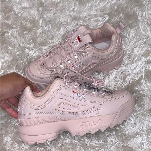 Fila Shoes   Fila Nude Blush Sneakers